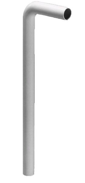 Botniarør hvid - Afløb til håndvask - Nicobelli