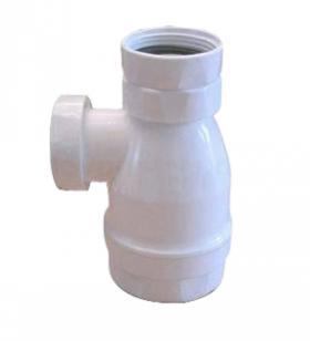 Pungvandlås i hvid - Afløb til håndvask - Nicobelli